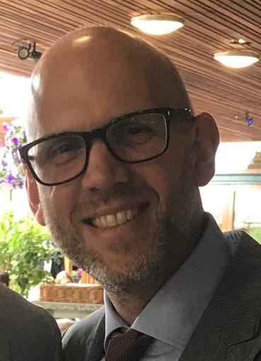 James Trafford Prostate Cymru Ambassador
